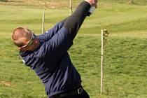 Domácí Lukáš Horák z Golf Clubu Brno závodil na divokou kartu ...