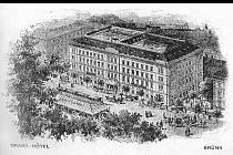 Grand hotel v Brně stojí od roku 1870. Přespali v něm například František Josef I., jenž měl speciálně upravený pokoj v prvním patře nebo Thomas Alva Edison, který v Brně projektoval první divadlo v Evropě s elektrickým osvětlením.