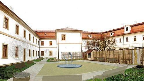 Své ano si zamilované páry ve Veselí nad Moravou řeknou v reprezentativně upraveném prostředí nádvoří tamního městského úřadu.