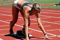 Brněnská sprinterka Kateřina Čechová