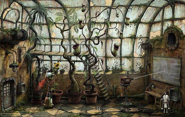 Hra Machinarium patří do kategorie logických dobrodružných. Hráč pomáhá rezavému robotu Josefovi najít cestu zpět ze skládky.