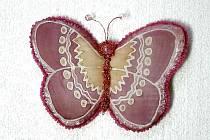 Z motýlí výstavy Darwin.