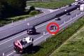 Řidič na dálnici D1 u Vyškova ohrožoval ostatní jízdou v protisměru