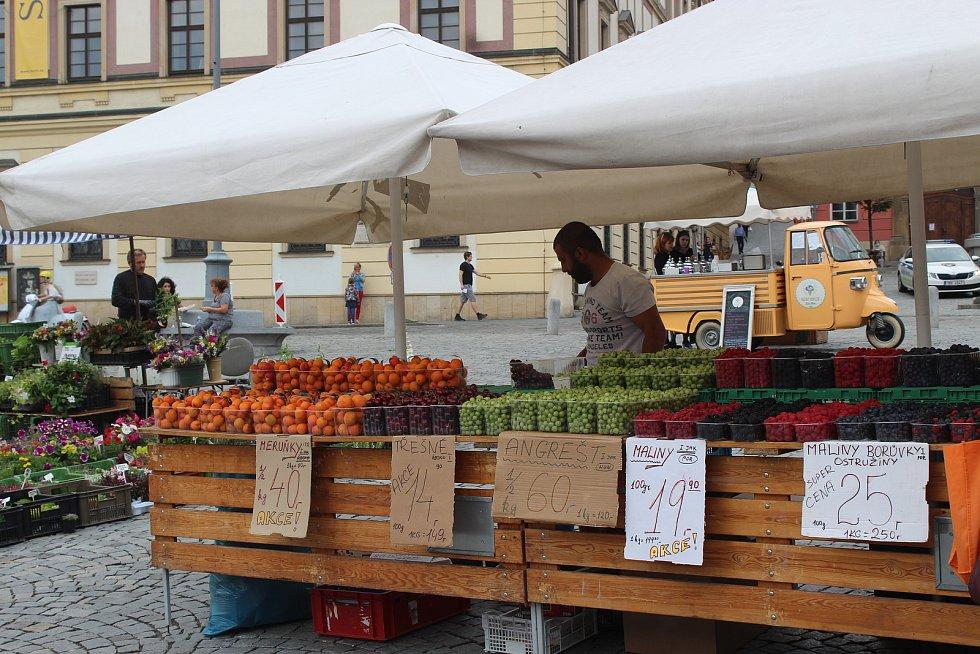 Trhy na Zelňáku opět fungují v běžném provozu.