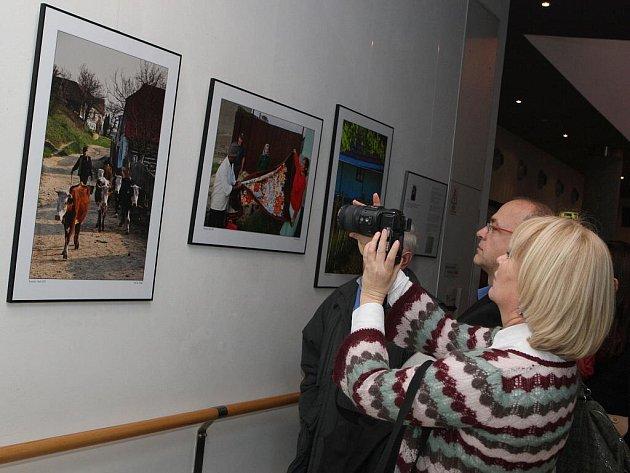 Výstava fotografií z Českého Banátu v Rumunsku.