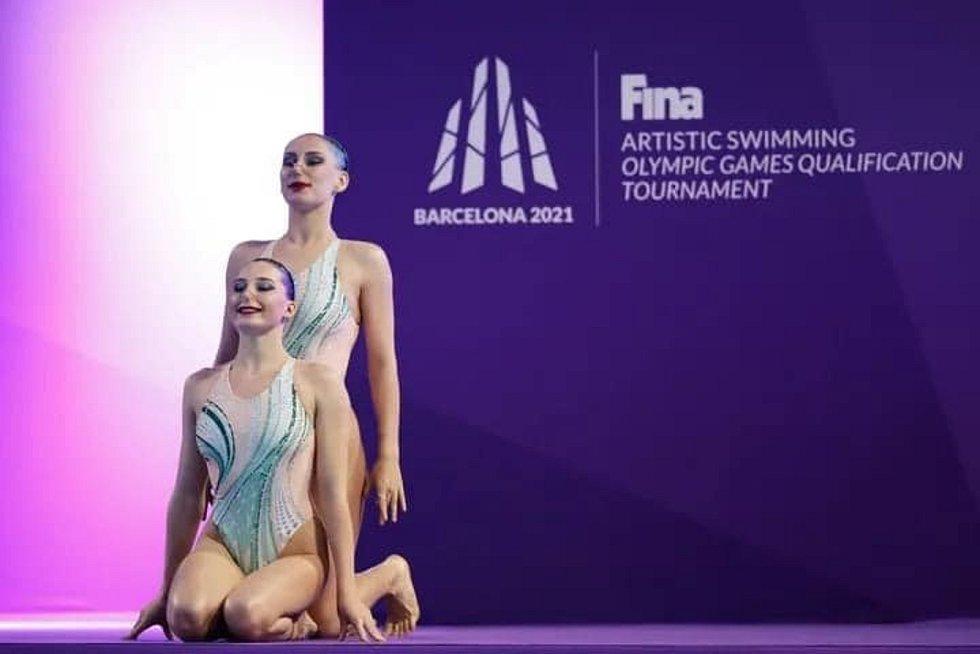 Aneta Mrázková s Karolínou Kluskovou usilovaly o kvalifikaci na olympiádu marně.