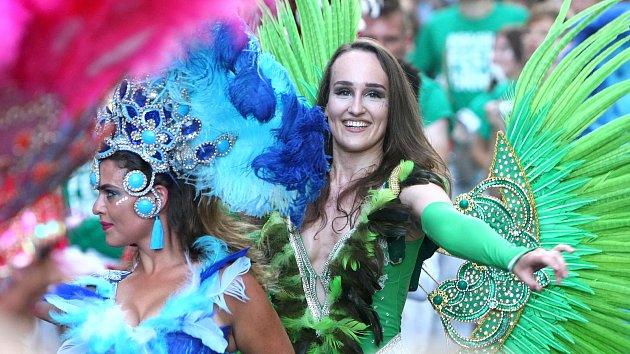 Karnevalovým průvodem začal Brasil Fest Brno.