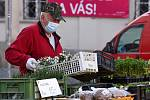 V pondělí 20.4.2020 začal v omezeném režimu znovu fungovat Zelný trh v Brně.