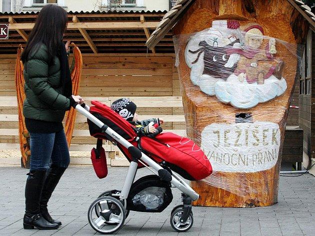 ILUSTRAČNÍ FOTO. Vánoce na brněnském náměstí Svobody.