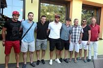 Hráči NHL a reprezentanti se setkali v Brně.