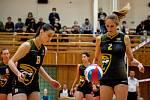 Volejbalistka Helena Horká (vpravo).