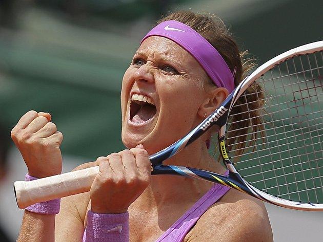 Tenistka Lucie Šafářová poprvé postoupila do semifinále Roland Garros.