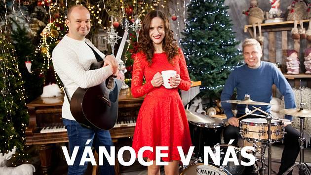 Skupina No Tiddlers představila vánoční skladbu.
