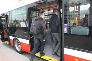Trolejbusy v Brně.