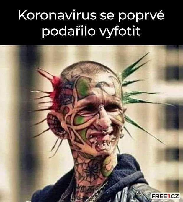 Měsíc karantény. Lidé neschází humor v době koronavirové na internetu a sociálních sítích.