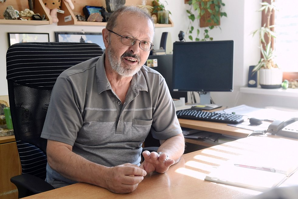 Leoš Štefka, vedoucí Správy CHKO Moravský kras.