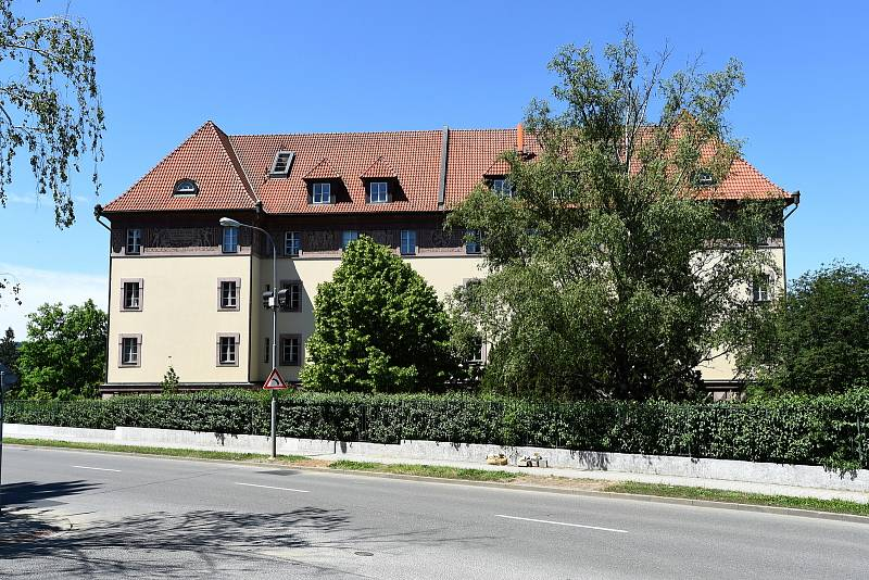 Kounicovy koleje v Brně.