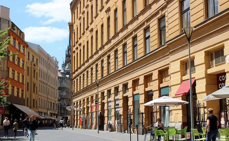 Josefská ulice v Brně.