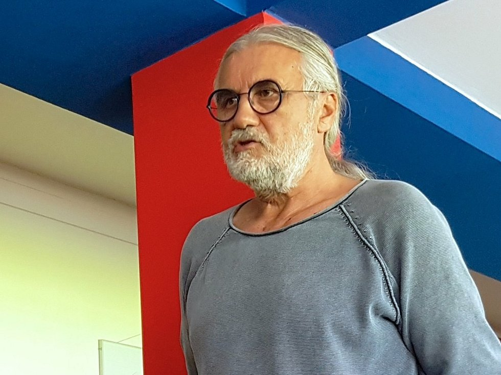 Majitel fotbalové Zbrojovky Brno Václav Bartoněk.