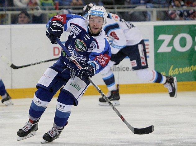 Hokejista Komety Jan Štencel.