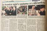Co psaly jihomoravské Deníky v období vstupu ČR do EU 2.5.2004
