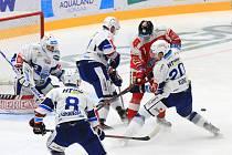 Hokejisté Komety sehráli třetí zápas Generali Česká Cupu proti Olomouci. Foto: HC Kometa Brno/Ivo Dostál