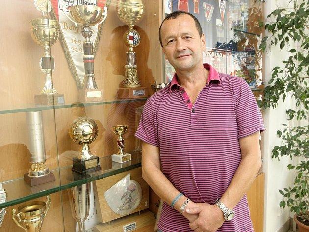 Sportovní ředitel a místopředseda představenstva fotbalové Zbrojovky Brno Zdeněk Kudela.