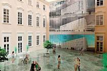 Jedna z vizualizací Centra nových strategií muzejní prezentace, které má vzniknout v Moravské galerii Brno.