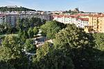Park mezi Křídlovickou a Zahradnickou ulicí.