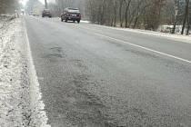 Počasí způsobuje výtluky na jihomoravských silnicích.