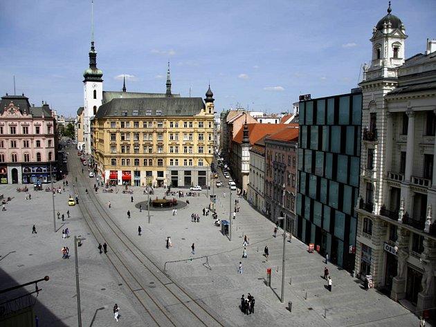 Náměstí Svobody v Brně