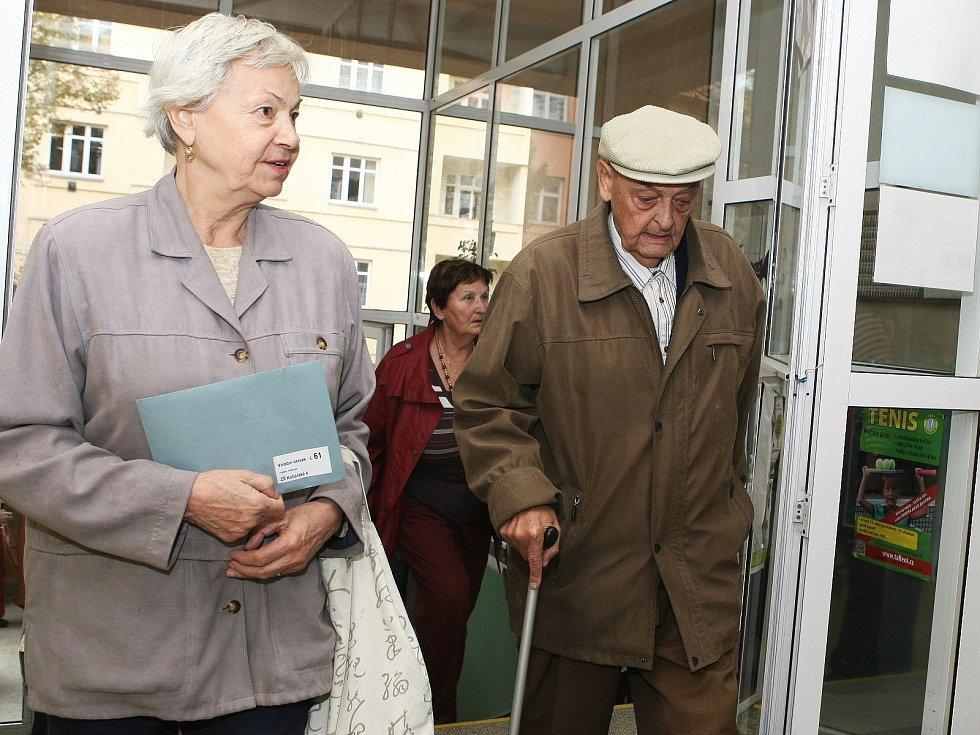 Volby do poslanecké sněmovny v Brně.