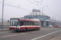 Vozovna Brno-Komín.