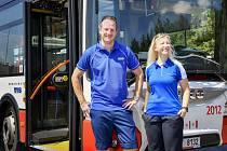 Řidiči brněnského dopravního podniku testují nové uniformy