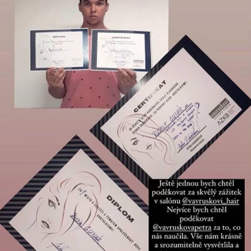 Letos se konal v pražském Vlasovém Studiu Vavruškovi 1. ročník Letní kadeřnické školy.Vítezem kadeřnické soutěže se stal Rudolf z Tišnova.