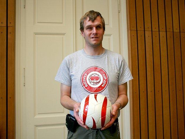 Nevidomý futsalista Jiří Fenz.