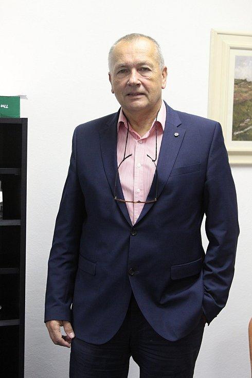 Ředitel Krajské veterinární správy Jaroslav Salava.