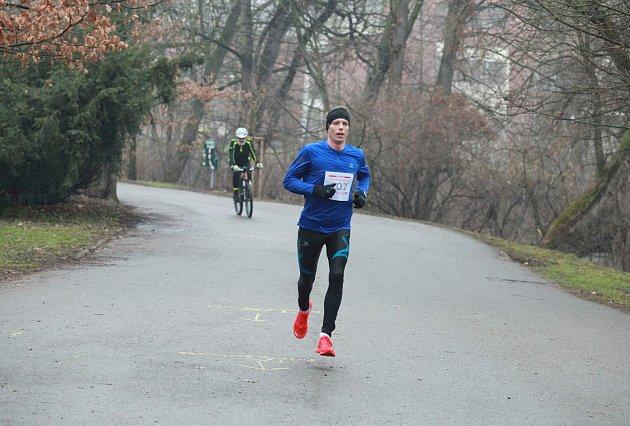 Jiří Čípa, vítěz půlmaratonu.