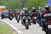 Fanoušci brněnské motocyklové Velké ceny na Masarykově okruhu.