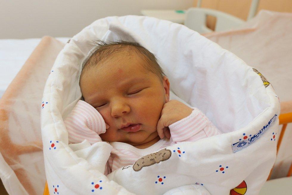 Victoria Križánková, 14. 12. 2020, Nemocnice Kyjov, 3440 g, 49 cm