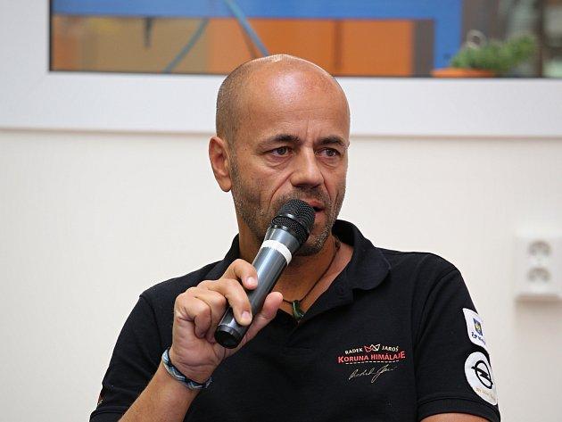 Horolezec Radek Jaroš představí na přednášce v Brně i svůj nejnovější film Cesta vzhůru.