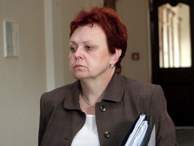 Ilona Strmisková u brněnského soudu.