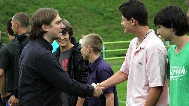 Předseda FK Apos Blansko Michal Babák.