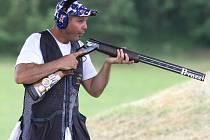 Australská střelecká legenda Michael Diamond.