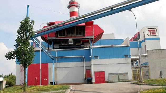 Teplárna Červený mlýn v Brně využívá zemní plyn k výrobě tepla i elektrické energie.