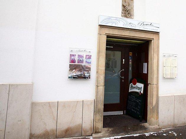 Brněnská restaurace Baroko.