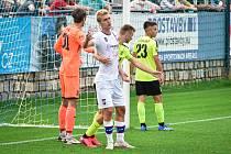 Fotbalisté Líšně prohráli na hřišti Vlašimi nečekaně vysoko 1:4.