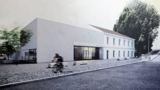 Přihlásilo se dvaatřicet uchazečů. Porota složená ze zástupců města a nezávislých architektů vyhodnotila jako nejlepší návrh kolektivu autorů pod záštitou Zdeňka Rothbauera. Ten následně vyhrál vyhlášené výběrové řízení.