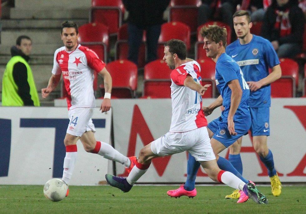 Slavia Praha hostila v prvním jarním kole Zbrojovku Brno.