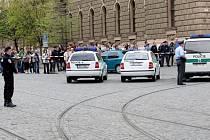 Falešný poplach v centru Brna zastavil dopravu.